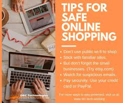 Maybe you would like to learn more about one of these? Safe Online Shopping 9 Tips To Stay Protected Drc Technologies It Services