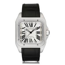 mens cartier watches the watch gallery cartier santos 100 large steel mens watch w20073x8