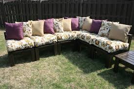 diy outdoor sofa. DIY Outdoor Sectional Diy Sofa