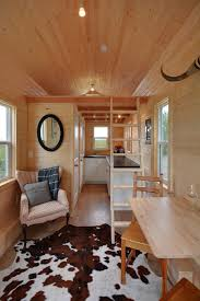 A 160 square feet tiny home on wheels in Delta, British Columbia, Canada  built by Tiny Living Homes.