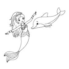 The following dolphin coloring pages can be printed for children to. Top 20 Free Printable Dolphin Coloring Pages Online