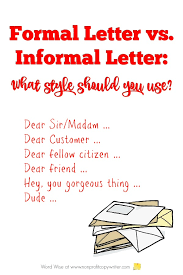 The Basics About Writing Letters