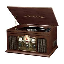 6 in 1 nostalgic bluetooth record player