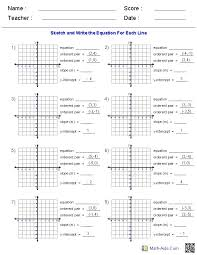 these algebra 1 generator allows you to produce unlimited numbers of dynamically created linear equations worksheets