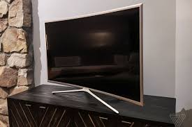 samsung curved tv back. photo by nilay patel / the verge samsung curved tv back