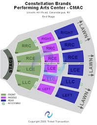 64 Comprehensive Cmac Performing Arts Center Seating Chart