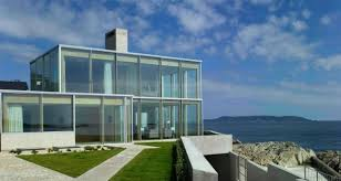 architectural house. House By The Sea, Dalkey, Dublin Architectural