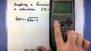 pre calculus using a calculator to graph a function ti 89 you