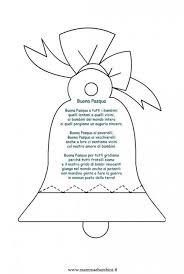 Poesia Buona Pasqua Con Disegno Mamma E Bambini