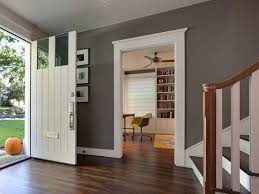 Your Home Value Interior Design White And Grey Paint Contrast Look Up Abbeda