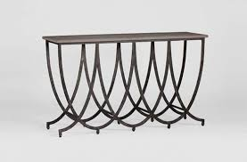 iron console table. Transitional Iron Wilton Console Table Concrete Top Gabby SCH-240535 W 59 D 18 H S