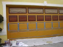 diy faux wood garage doors. How To Paint Steel Garage Doors Diy Faux Wood A