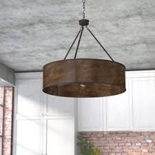 image vintage drum pendant lighting. Vincent 5-Light Drum Pendant Image Vintage Lighting D