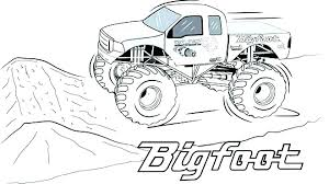 Grave Digger Color Pages Grave Digger Coloring Page Pages Monster