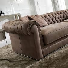high end upholstered furniture. High End Italian Leather Button Upholstered Sofa Furniture M
