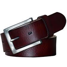 spring models pol parkman mens classic jean leather belt wide 1 1 2