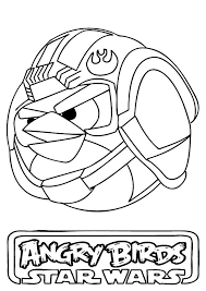 Small Picture Luke Skywalker Angry Bird Star Wars Coloring Pages Bulk Color