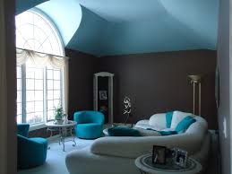 Turquoise And Brown Living Room Elegant Living Room Interior Design With U Shaped White Leather