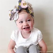 10pcs cotton infant baby headbands diy tied 0