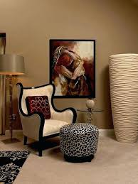 dining room animal print dining chairs leopard print wingback chair trendy carpeted bedroom photo in