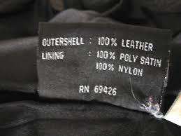wilsons leather jacket medium black coat mens m mens on front
