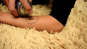 как сделать татуировку на время неделю
