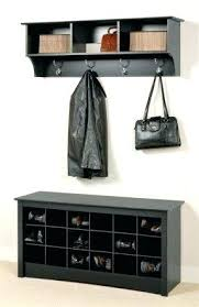 Coat Rack Storage Unit Impressive Shoe Rack Cubby Storage Unit Coat Storage Coat Rack With Coat Hook