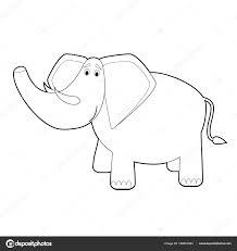 Immagini Disegno Facile Elefante Facile Colorare Disegni Animali