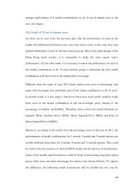 forecasting hong kong hang seng index hsi volatility using garch cl