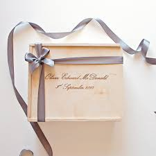custom engraved wooden gift bo the bridal box co
