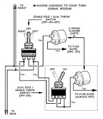 how to add turn signals and wire them up hazards wiring