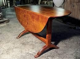 custom drop leaf table
