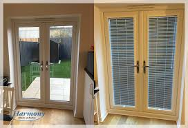 venetian blinds for patio doors. Simple Doors Before U0026 After  Perfect Fit Venetian Blinds In A Patio Door For Doors F