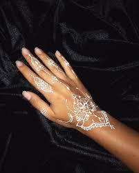 белая хна White Henna белая хна на руке хна рук мехенди рук