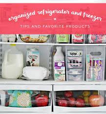Iheart Organizing Organized Counter Depth Fridge Freezer