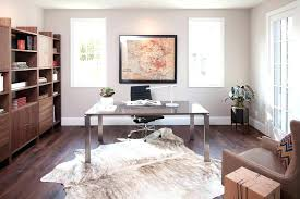 ikea cowhide rug cowhide rug cowhide rug home office contemporary with armchair art bookcase desk metal