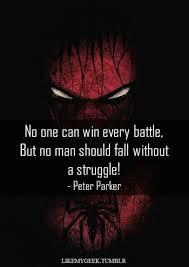 Spiderman Love Quotes Simple Top 48 Best Spiderman Quotes Comics Amino
