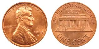 Lincoln Memorial Penny Values Chart 1969 S Lincoln Memorial Penny Coin Value Prices Photos Info
