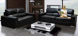 black leather couch. Black Leather Couch A