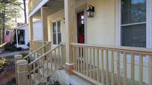 how to build a porch railing advice on assembly diy makeovers wood front 8