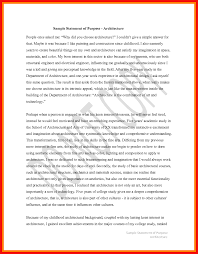 Purpose Statement Template Statement Of Purpose Job Apa Example 10