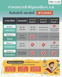กำหนดการสำ... - PreTcas สอบเข้ามหาวิทยาลัย by AdmissionPremium