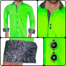 Neon Designer Dress Active Designer Dress Shirt Luminosity Neon Collection