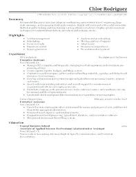 Sample Executive Assistant Resume Classy Professional Administrative Resume Putasgae