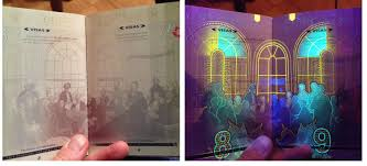 New Canadian Passport Design Norwegian Passports Display The Aurora Borealis Under A Uv
