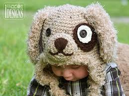 Crochet Dog Hat Pattern Inspiration Grommet Puppy Dog Hat PDF Crochet Pattern IraRott Inc