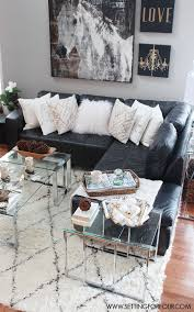choosing rustic living room. come see my rustic glam living room makeover and new area rug iu0027m choosing