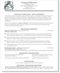 Daycare Worker Resume New Child Care Teacher Assistant Sample Resume Simple Resume Examples