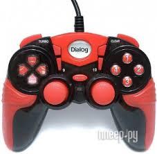 Купить <b>Геймпад</b> Dialog Action GP-A15 Black-Red по низкой цене в ...