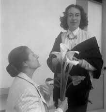 Photograph of Valentine Penrose and Maud Westerdahl', Eileen Agar, 1952–6 –  Tate Archive   Tate
